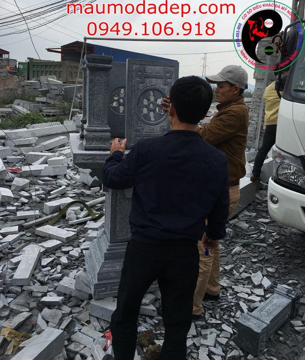 Lắp cây hương đá tại Lào Cai 2