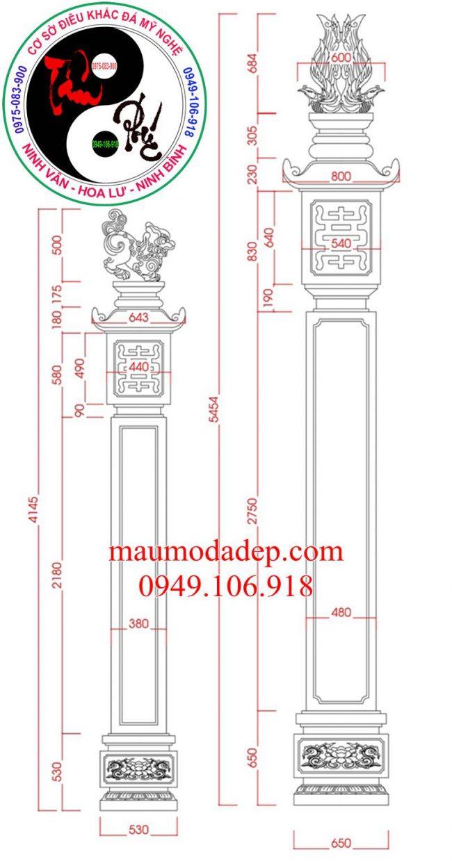 Thiết kế cổng tam quan 1