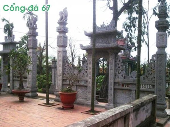 Mẫu cổng nhà thờ đẹp bằng đá 67
