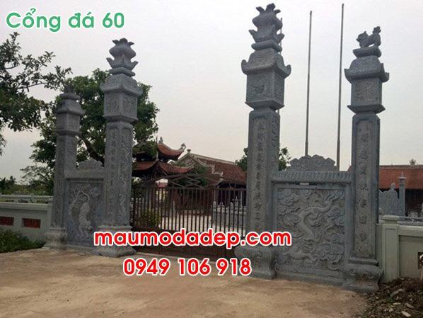 Mẫu cổng nhà thờ họ 60