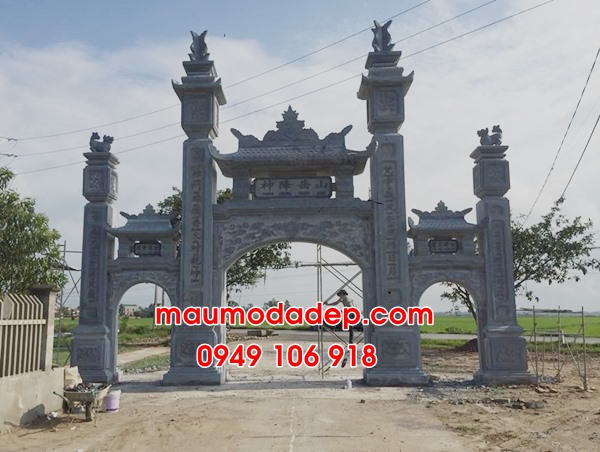 Hình ảnh 12 mẫu cổng nhà thờ họ đẹp bằng đá-4