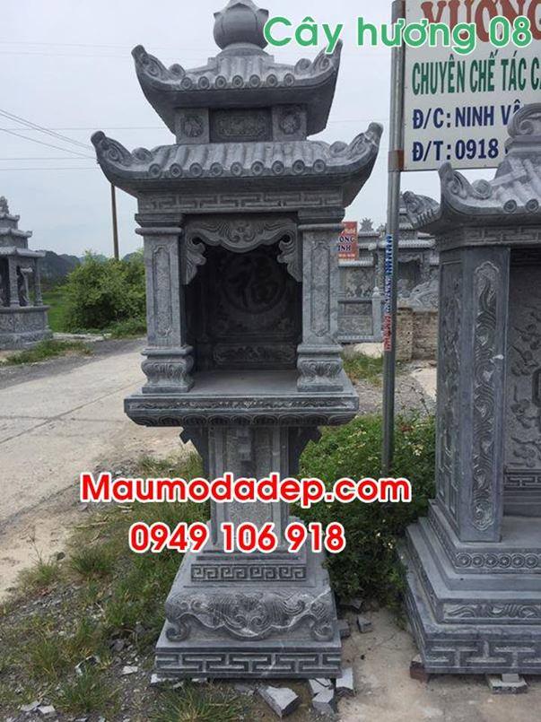Mẫu bàn thờ mẫu bán thiên đẹp bằng đá