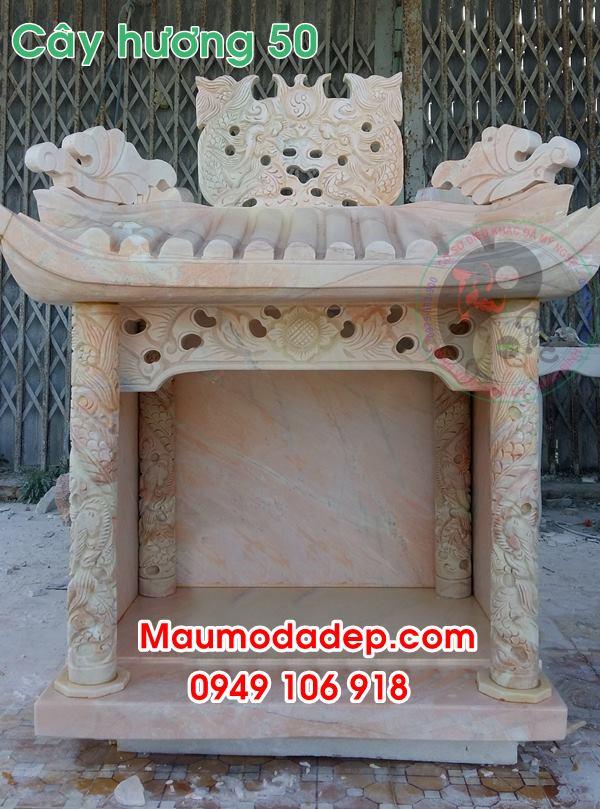 Mẫu miếu thờ thần linh đẹp bằng đá