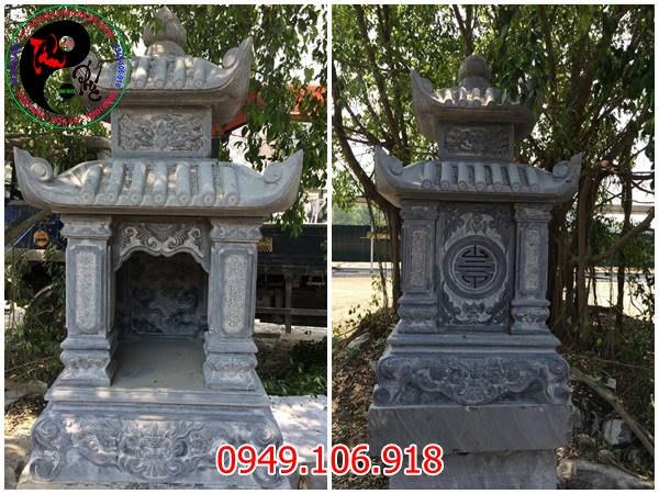 mẫu am thờ bằng đá