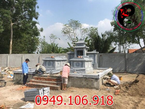 Toàn cảnh quá trình xây dựng khu lăng mộ đá tại tỉnh Long An