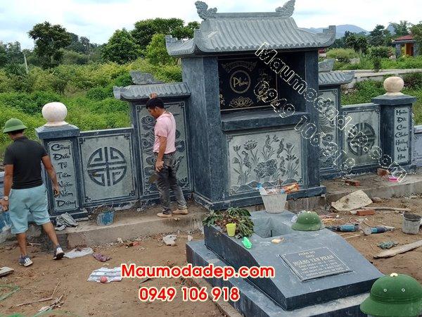 Các mẫu lăng mộ đẹp đá xanh rêu