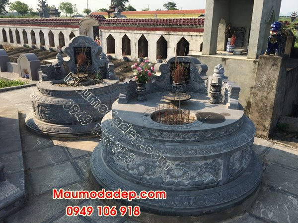 Các mẫu xây mộ đẹp