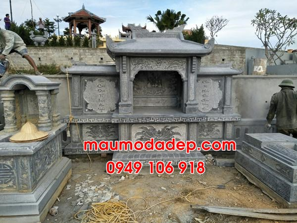 Các mẫu lăng mộ đep bằng đá năm 2019