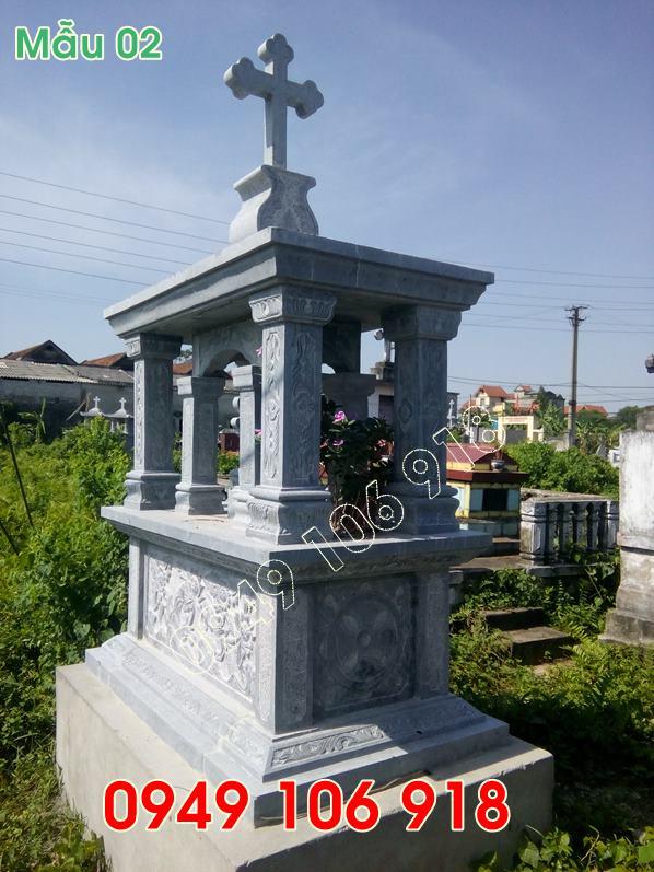 Mẫu mộ đá công giáo đẹp giá rẻ tại hưng yên