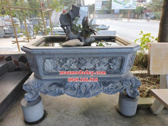 Mẫu ang chậu đá tiểu cảnh bán tại Ninh Bình