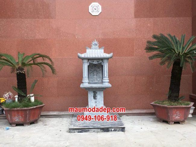 Xây cây hương đá thờ thần linh tại Hà Nội