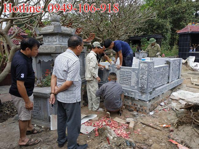 Xây mộ đôi đẹp tại Hà Nội 03