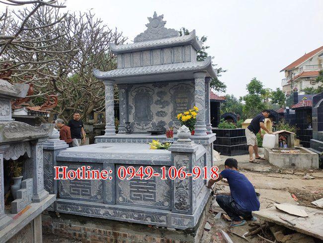 Xây mộ đôi đẹp tại Hà Nội