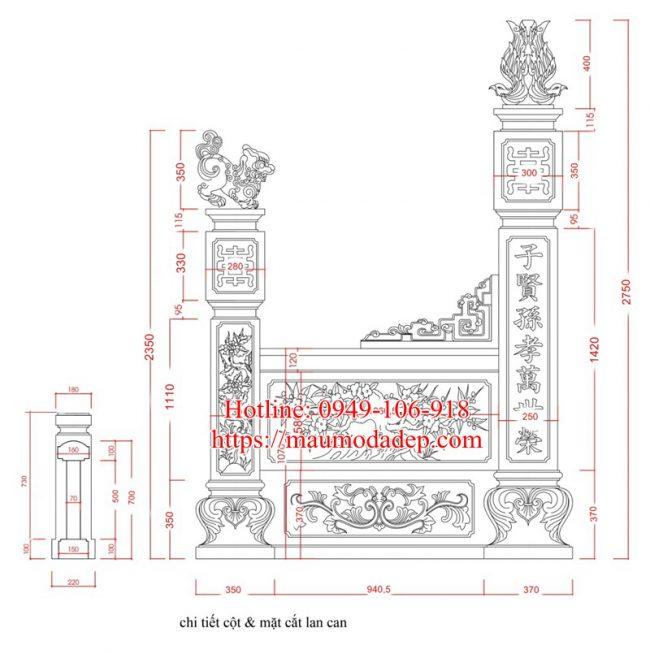 Kích thước xây cổng nhà thờ 2b