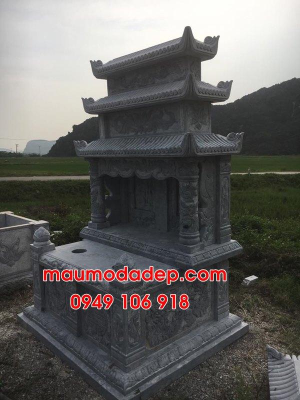 Mẫu mộ đôi xây đẹp đơn giản