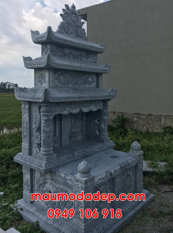 Mẫu mộ đôi xây đẹp