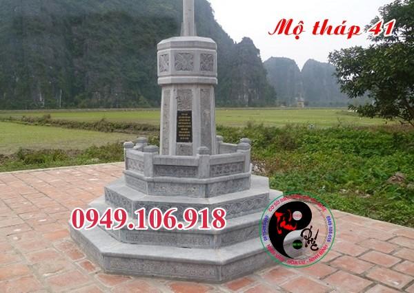 Mẫu mộ hình tháp bằng đá 41