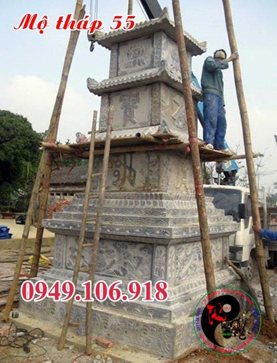 Mộ đá hình tháp bằng đá 55