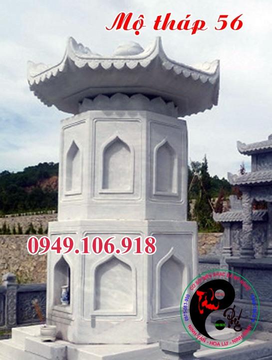 Mộ đá hình tháp bằng đá 56