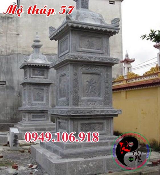 Mộ đá hình tháp bằng đá 57