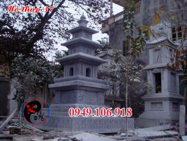 Mộ hình tháp bằng đá 37