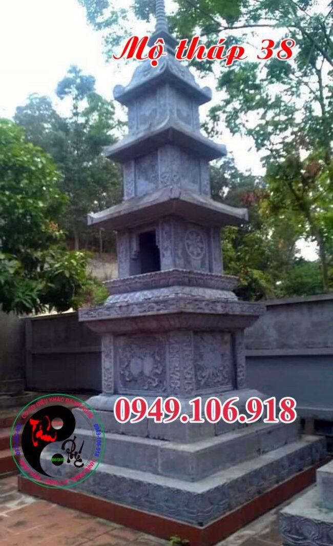 Mộ hình tháp bằng đá 38