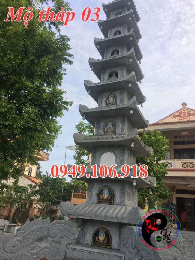 Mộ tháp bằng đá 03