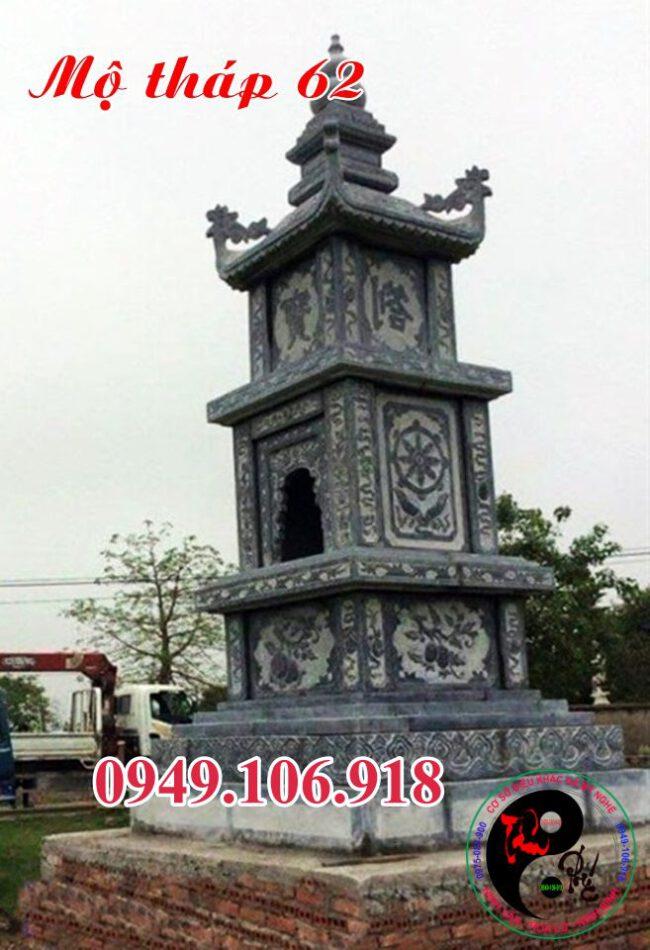 Mộ tháp phật giáo bằng đá bằng đá 62