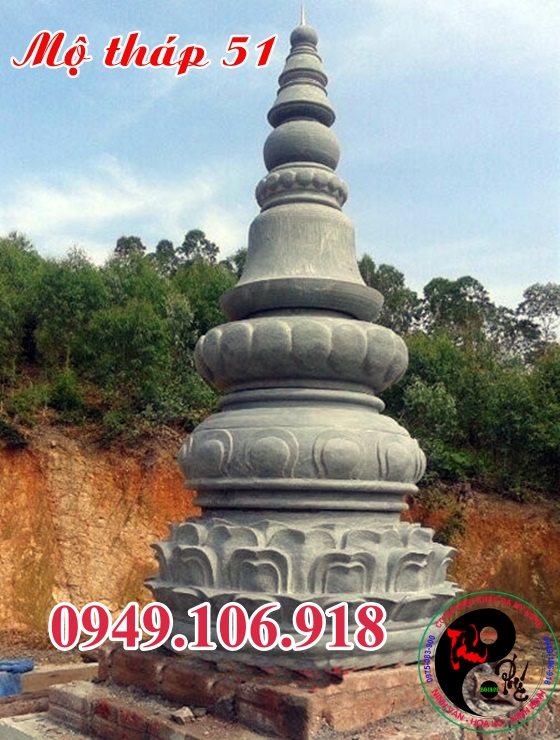 Xây mộ tháp đẹp bằng đá 51