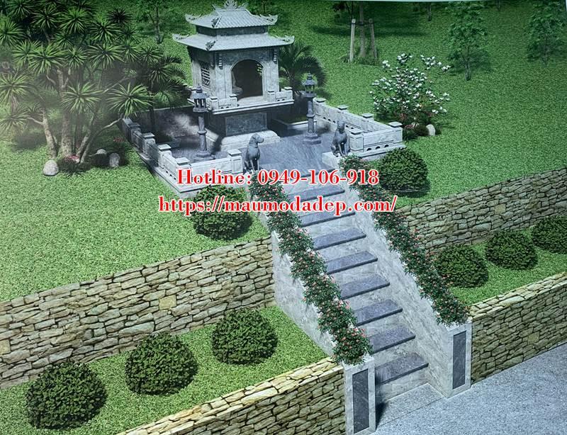 Bản vẽ 3D kích thước xây miếu thờ quan Thổ Thần
