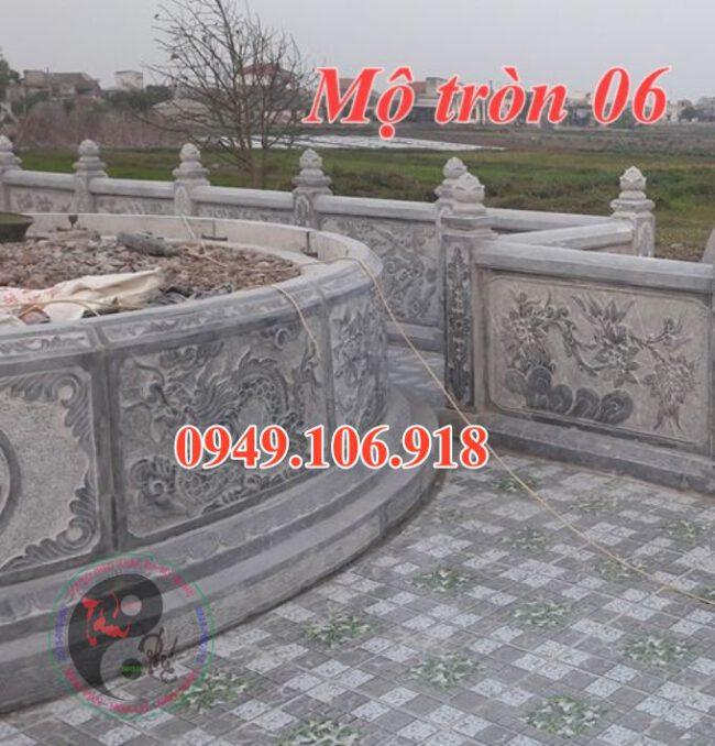 Khu lăng mộ đá tròn đẹp tại khánh hồng yên khánh 06