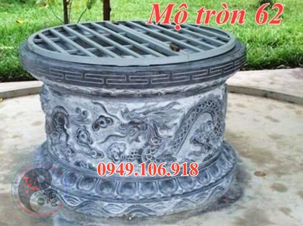 Lăng mộ tròn bằng đá đẹp 62