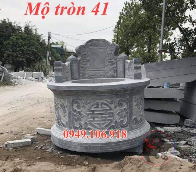 Mẫu mộ tròn bằng đá đẹp 41