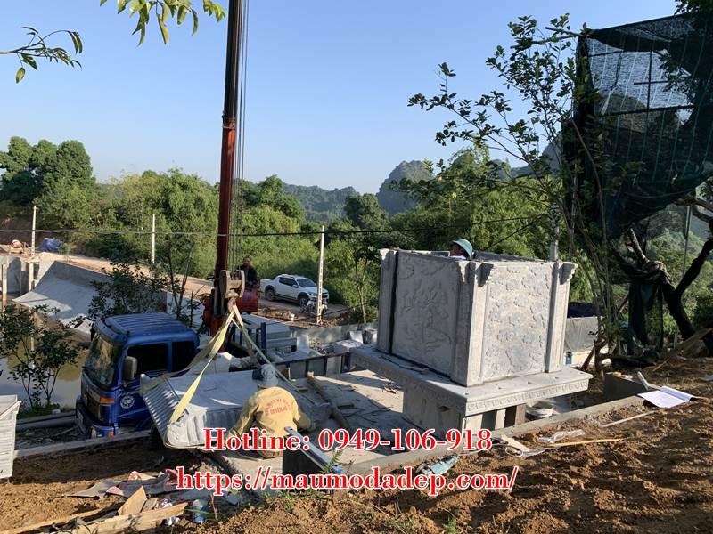 Xây miếu thờ Sơn Thần bằng đá tại Lương Sơn - Hòa Bình - 02