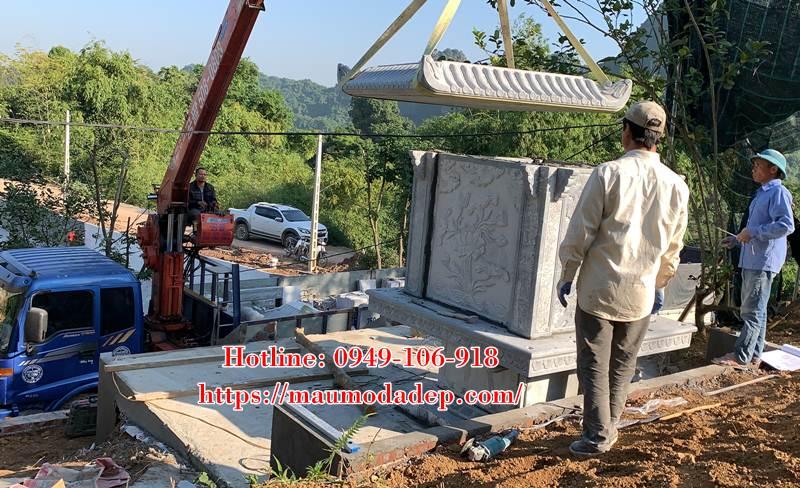 Xây miếu thờ Sơn Thần bằng đá tại Lương Sơn - Hòa Bình - 03