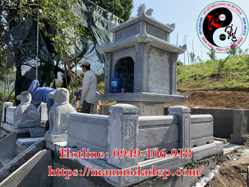 Xây miếu thờ Sơn Thần bằng đá tại Lương Sơn - Hòa Bình - 05