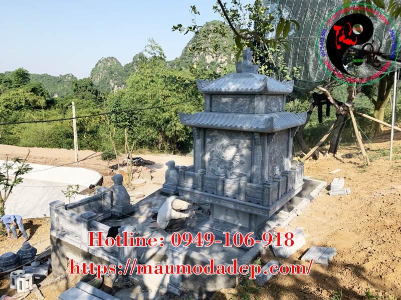 Xây miếu thờ Sơn Thần bằng đá tại Lương Sơn - Hòa Bình - 06
