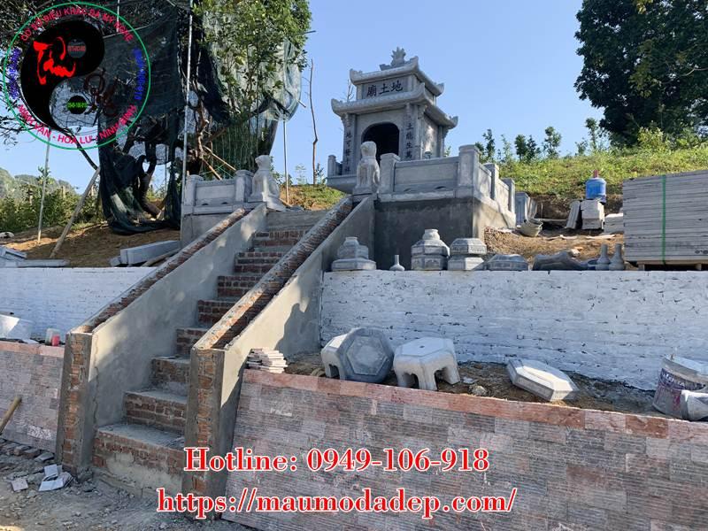 Xây miếu thờ Sơn Thần bằng đá tại Lương Sơn - Hòa Bình - 07