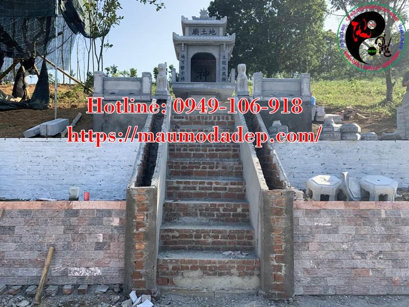 Xây miếu thờ Sơn Thần bằng đá tại Lương Sơn - Hòa Bình - 08