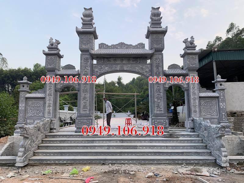 Hình ảnh cổng đá nhà thờ họ đẹp hiện nay